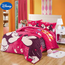 Mickey And Minnie Mouse Bedroom Decor Popular Mickey Minnie Mouse Bedding Buy Cheap Mickey Minnie Mouse