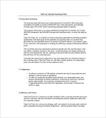small business startup plan sample business plan template for startup startup business plan template