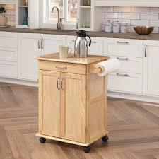beech wood kitchen cabinets: winsome wood utility kitchen cart beechwood