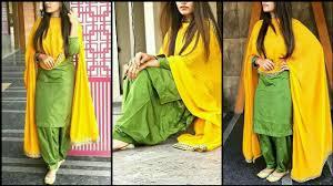 Contrast Dress Design 2018 Contrast Punjabi Suit Designs 2018 2019 New Colour Combination For Punjabi Suits