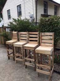 pallet bar stools. diy pallet high bar stools benches, chairs \u0026 u