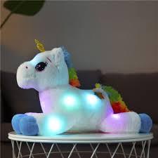Light Up Stuffed Unicorn 40cm Led Plush Light Up Toys Unicorn Stuffed Animals Plush