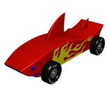 Shark Pinewood Derby Car Design Plan Instant Download