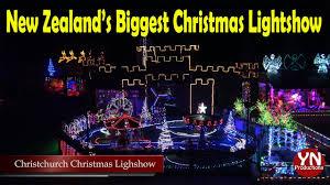 Christchurch Christmas Light Show 2017 New Zealand