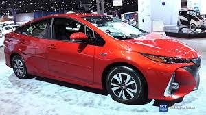 2018 toyota prius. perfect prius 2018 toyota prius prime hybrid  exterior and interior walkaround 2017  new york auto show to toyota prius
