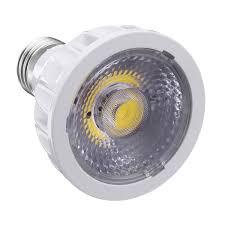 Light Bulb Shell E27 7w Dimmable Par 20 Led Cob White Shell Spot Light Bulb Lamp For Home Decoration Ac110v