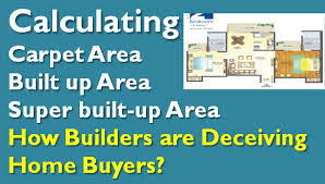 how builders use super built up area to