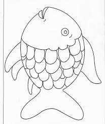 Small Picture Rainbow Fish Coloring Pages To Print Coloring Coloring Pages