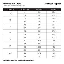 American Apparel Womens The Disco Pant