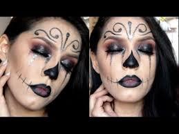 sugar skull makeup tutorial for beginners mugeek vidalondon
