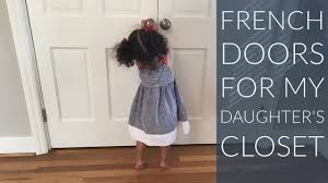 double french closet doors. Convert Sliding Bypass Doors To French Double French Closet Doors