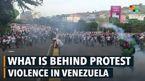 Image result for venezuelan economy, people suffer and riot
