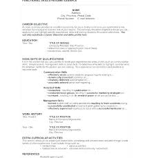 Special Skills Resume For Nurses On A Acting Summary To Put