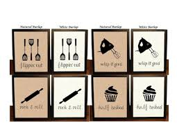 Wall Art For Kitchen Funny Kitchen Art Etsy