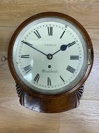 fusee drop dial wall clock c1860