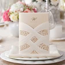 Amazon Com Wishmade 50 Count Wedding Invitations Cards Kits With