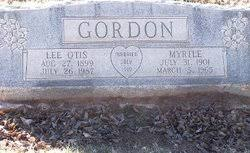 Myrtle Gordon (1901-1965) - Find A Grave Memorial