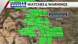 COLORADO WEATHER: 70s and stormy with ...