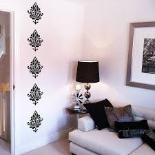 damask wall stickers on damask sticker wall art with damask wall stickers by nutmeg notonthehighstreet