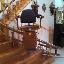 curved stair chair lift. Image Of: Stair Lifts For The Elderly Wood Curved Chair Lift