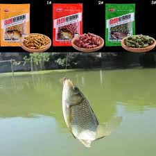 <b>1bag Fishing Bait</b> Granular Fishing Bait Additives For Grass Carp ...