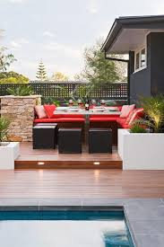 modern outdoor living melbourne. melbourne elevated deck plans with contemporary outdoor cushions and pillows split level bar modern living