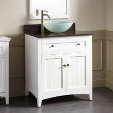30 halifax vessel sink vanity white