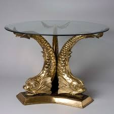 victorian brass dolphin coffee table at 1stdibs