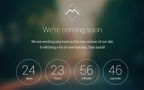 Mira Coming Soon Landing Page