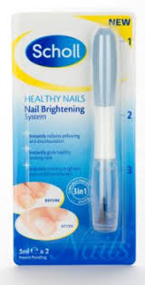 scholl healthy nails nail brightening system 9 99
