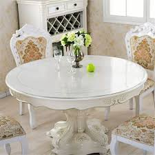 table pads home kitchen pictures on charming inch square glass top topper dining tempered round patio