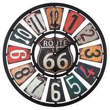 route 66 wood wall clock hobby lobby