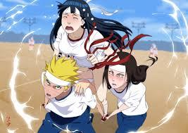 5086373 / Neji Hyūga, Hinata Hyūga, Naruto, Naruto Uzumaki, Anime wallpaper