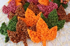 thanksgiving rice krispie treats. Perfect Thanksgiving These Beautiful Fall Leaves Rice Krispie Treats Are Delicious Easy To Make  And Perfect For With Thanksgiving P