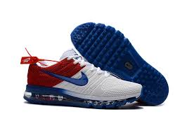 nike 2017 shoes. nike air max 2017 kpu white blue red 849560 315 mens running shoes trainers 7