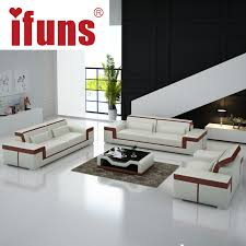 leather sectional living room furniture. IFUNS Modern Leather Sectional Sofa Set Living Room Furniture Genuine Luxury Sets 1 2 3 Big House (fr)-in Sofas From On R