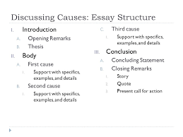 cause and effect purpose of cause and effect  purpose  discussing causes essay structure i introduction a