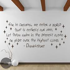Dumbledore Dreams Quote Best Of Amazon Albus Dumbledore Harry Potter Quote For In Dreams We