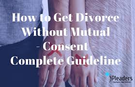 Divorce Notice Format Impressive How To Get Divorce Without Mutual ConsentLegal Guideline