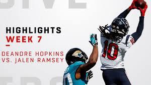 DeAndre Hopkins vs. Jalen Ramsey Highlights - YouTube