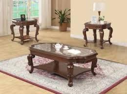 solid wood coffee table id 113