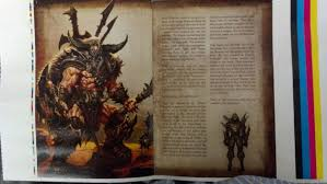 some user on reddit posted what appear to be cell phone ninja photos of some pages of the diablo iii manual straight off the printing press