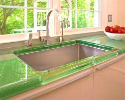 diy recycled glass countertops how to build a concrete glass concrete
