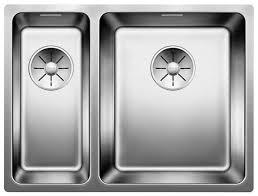 Врезная <b>кухонная мойка Blanco Andano</b> 340/180-U InFino (чаша ...