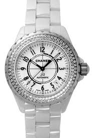 chanel s j12 in white ceramic and diamond set bezelwatch shop chanel has created another j12 diamond watch