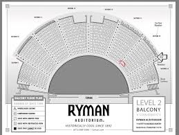 Ryman Seating Chart Obstructed View Ryman Auditorium Seat Map Ryman Seating Chart Main Floor