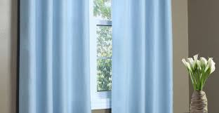 Curtains : Light Blue Blackout Curtains Amazing Light Blue And ...