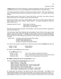 minutes of regular meeting of woodbridge board of 2009 11 19 minutes of regular meeting of woodbridge board of education by david pinkowitz issuu