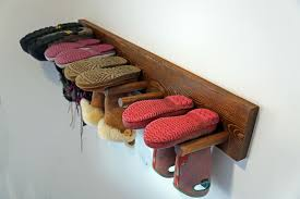 wall boot rack plans