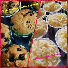 Indonesian Walnut Butter Cupcake Melty Cheese Cake Food Drinks